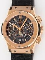 We buy Hublot Aero Fusion Chronograph watches