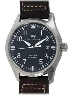 We buy IWC Pilot's Mark XVI watches