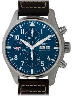 We buy IWC Pilot's Chronograph 'Le Petit Prince' watches
