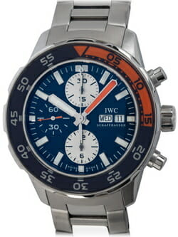 We buy IWC Aquatimer Chronograph watches