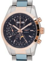 We buy Longines Conquest Classic Chronograph Moonphase 42mm watches