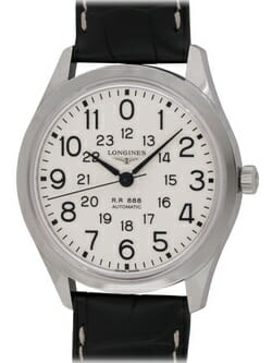 We buy Longines Heritage Collection Railroad R.R. 888 watches