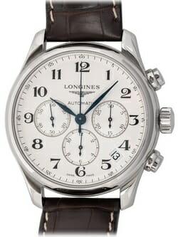 We buy Longines Master Chronograph watches
