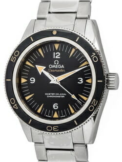 We buy Omega Seamaster 300 Master Co-Axial watches