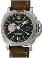 We buy Panerai Luminor GMT watches