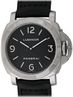 We buy Panerai Luminor Base watches