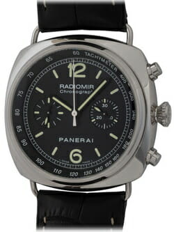 We buy Panerai Radiomir Chronograph watches