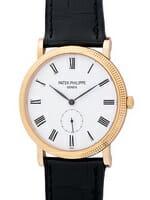We buy Patek Philippe Calatrava watches