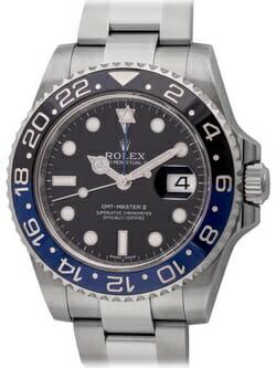 Sell my Rolex GMT-Master II BLNR 'Batman' watch