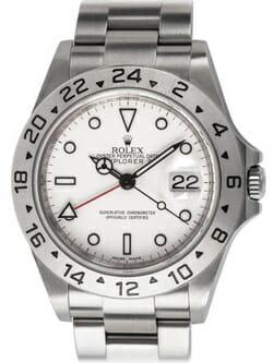 We buy Rolex Explorer II '3186' watches