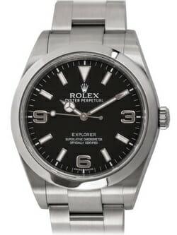 Sell my Rolex Explorer 39MM watch