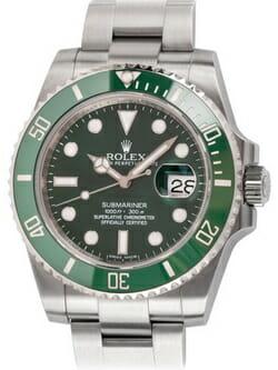 Sell my Rolex Submariner Date 'Hulk' watch