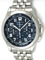Sell my Zenith El Primero Hand Wound Chronograph watch