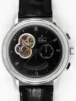 We buy Zenith Grande Chronomaster T Open watches
