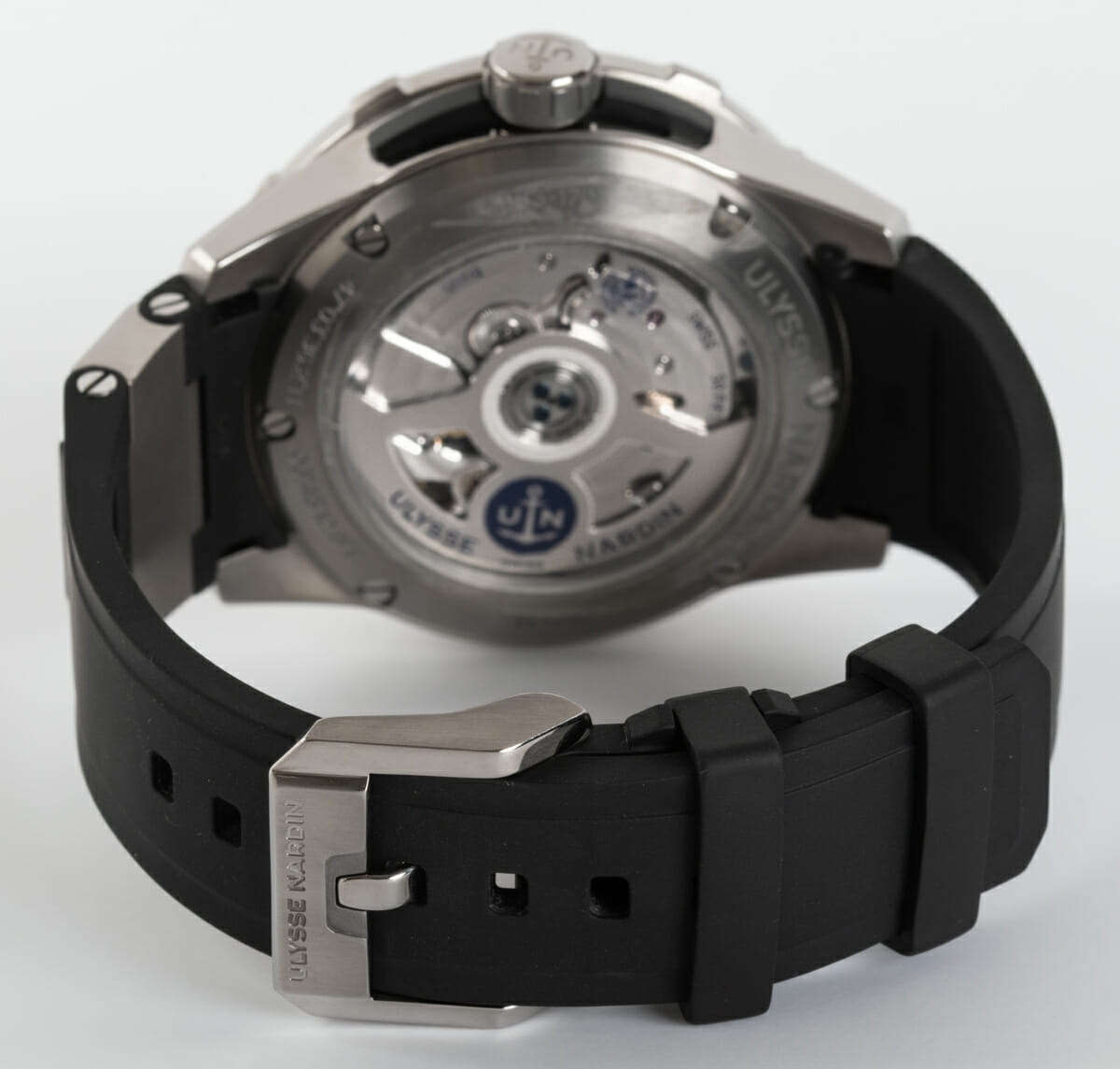 Rear / Band View of Diver Chronometer 44mm